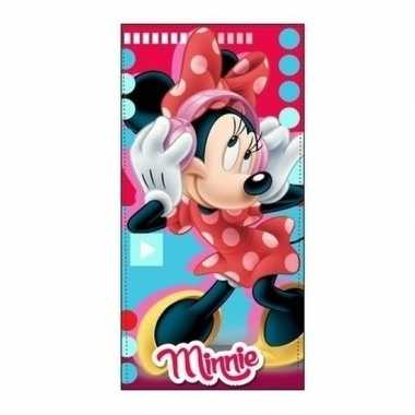 Disney minnie mouse badlaken strandlaken muziek 70 x 140 cm
