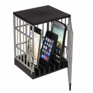Mobile telefoons kluis opslag gevangenis 15 x 19 cm
