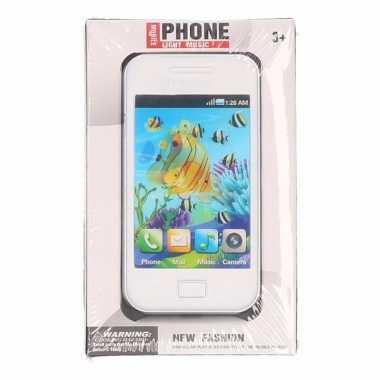 Speelgoed smartphone wit